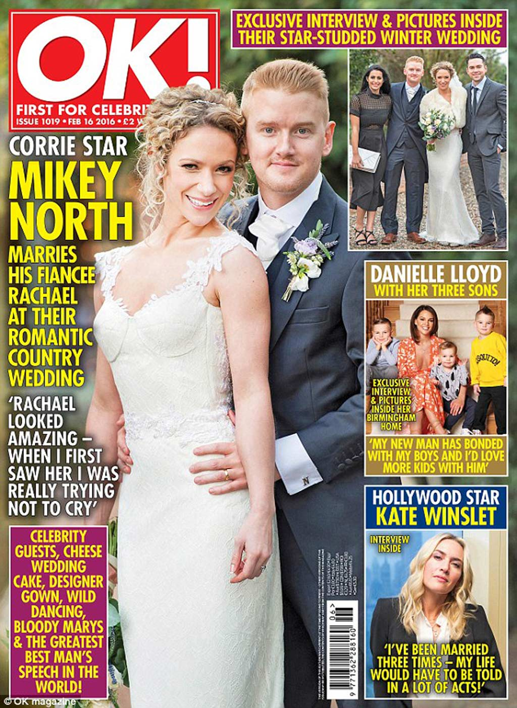 Mikey North Wedding